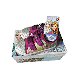Frozen Sisters Sneakers with Glitter (Todd Size 12)