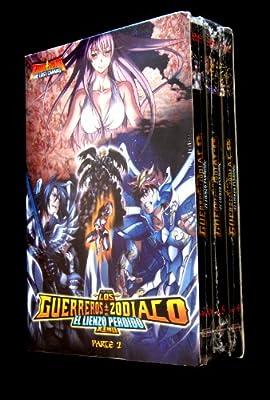 Los Guerreros del Zodiaco: El Lienzo Perdido 3DVD boxset (Vol. 4 - Vol. 6) *Spanish Audio*