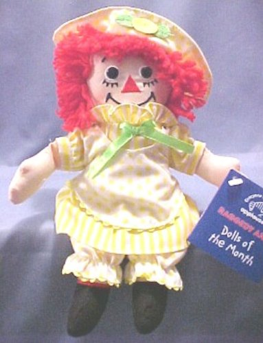 "Raggedy Ann - August By Applause 8"" #A16877 - 1"
