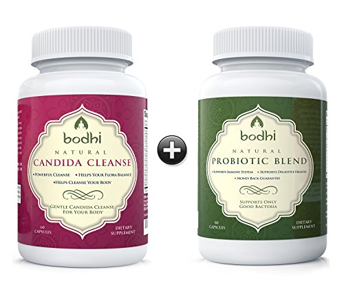 Bodhi Natural Candida Cleanse and Probiotic Blend Supplement - 60 Capsules (Gold Seal Echinacea compare prices)