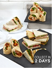 Count On Us Sandwich & Wrap Platter (18 pieces)
