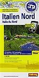 Italien Nord: Stellplatzkarte, 850 Stellplätze, 1:700 000, Karte Fotos Plätze all in one, Mit kostenlosem Download für Smartphone ... Websites (Hallwag Strassenkarten Promobil)