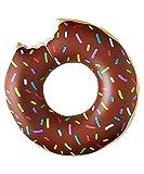 Flotador inflable en forma de Donut tamaño gigante para la piscina o playa. Donut flotador hinchable para la piscina o la playa por Integrity co