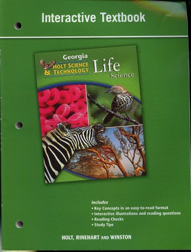 Interactive Textbook Holt Science Technology Life