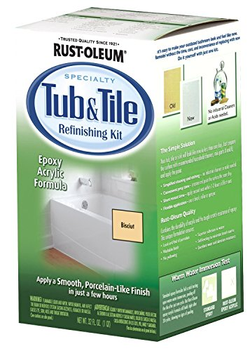 Rustoleum 7862519 Biscuit Bathtub & Title Refinish Paint Kit 3 Pack (Rustoleum Tub And Tile Kit compare prices)