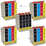 20x Compatible Epson Stylus SX218 Printer Ink Cartridges (Contains: 8x Black 4x Cyan 4x Magenta 4x Yellow)