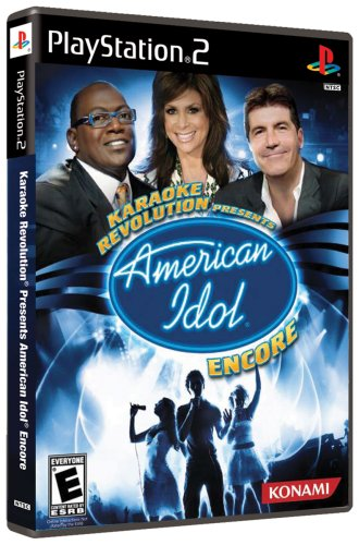 Karaoke Revolution Presents: American Idol Encore - PlayStation 2