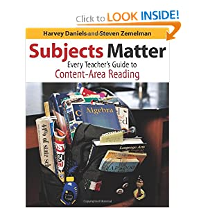 Subjects Matter: Every Teacher's Guide to Content-Area Reading