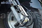 【6ヶ月保証付】【JOKER[ジョーカー]50/90】 純正リペア用 クロームメッキ フロントフォークカバー 左右セット 外装 aiNET製