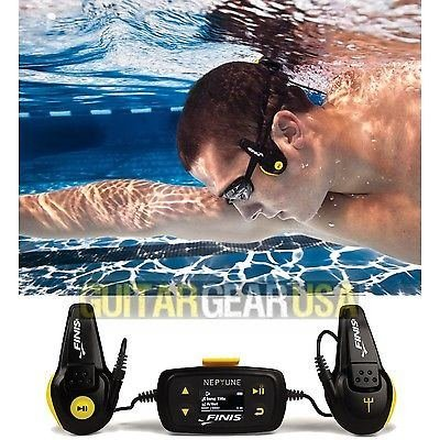 Finis Neptune Underwater Mp3 Player - 4 Gb / 1000 Songs - Next Generation Swimp3