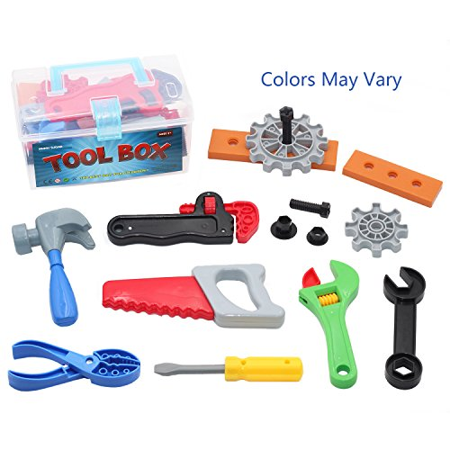 Toy Tool Sets For Boys : Mumu sugar children toy tool box pretend play set with