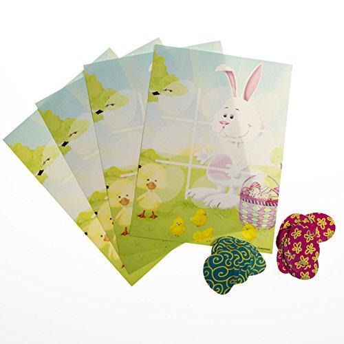 Easter Bunny Tic Tac Toe