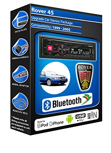 Rover 45 autoradio Alpine UTE 72BT-kit mains libres Bluetooth pour autoradio stéréo