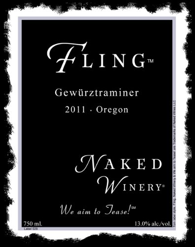 2012 Naked Winery Fling Gewürztraminer 750 Ml