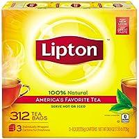 Lipton Black Tea Bags, America's Favorite Tea 312-Count Box