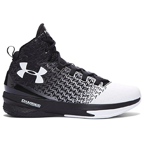 Under Armour Scarpe Basket Uomo - UA ClutchFit® Drive 3 - 1269274-002 - Black / White-42