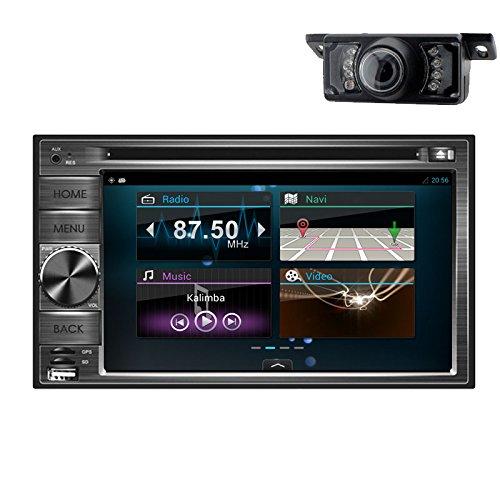 BT 6.2 Zoll TFT Car Radio Stereo 2 DIN Multimedia-Receiver