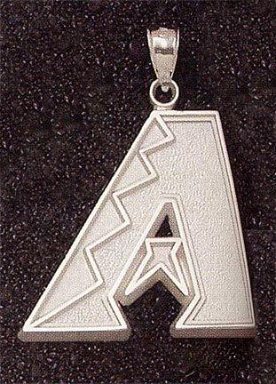 Arizona Diamondbacks Giant 1 1 2 W x 1 1 4 H A Pendant - 14KT Gold Jewelry by Logo Art