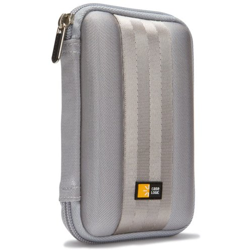 Case Logic QHDC-101GY Portable EVA Hard Drive Case (Gray)