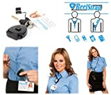 Reelstrap - The Best Id Badge Holder. Better Than Badge Reels or Retractable Lanyard.