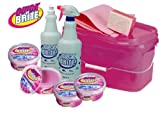 Quick'n Brite Multicleaner Set in pink bucket