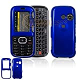 LG Rumor2 LX265 Cell Phone Solid Dark Blue Protective Case Faceplate Cover