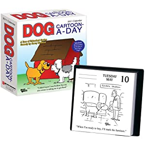 Dog Cartoon-a-Day: 2011 Day-to-Day Calendar