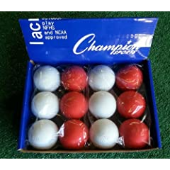 Pepermint Blend - Assorted Color NCAA NFHS Lacrosse Balls by Champion