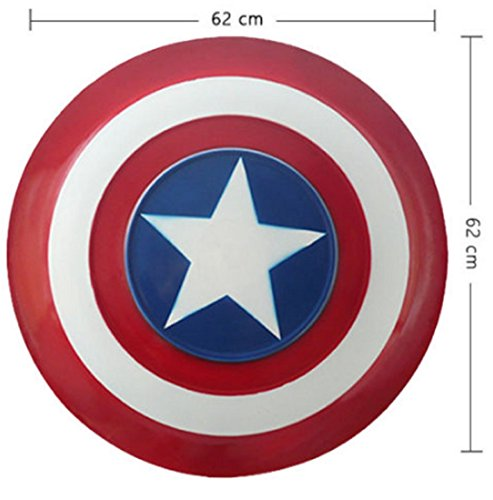 [VINTAGE CAPTAIN AMERICA 3 METAL SHIELD FILM TELEVISION HALLOWEN COSPLAY PARTY COSTUME] (Female Centaur Costume)