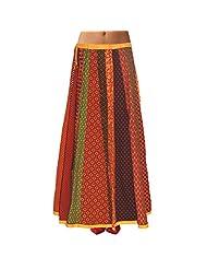 Sttoffa Womens Cotton Skirts -Multi-Colour -Free Size - B00MJO7LZW