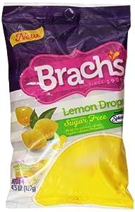 Brach's Sugar Free Lemon Drops, 4.5 Ounce (Pack of 12)
