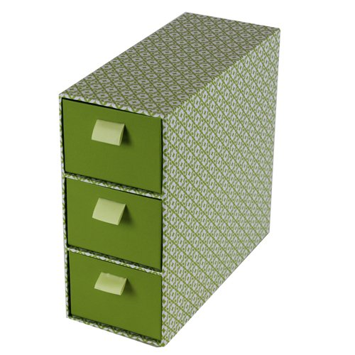 Decorative Storage Boxes Uk : Jvl drawer decorative storage box cardboard slim retro