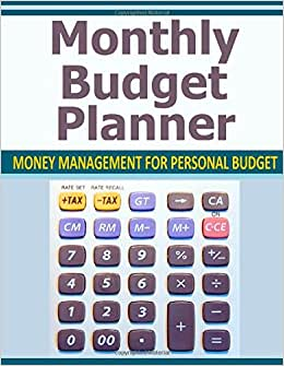Monthly Budget Planner: Money Management For Personal Budget