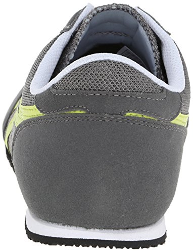 new arrivals 10790 cc798 Onitsuka Tiger Machu Racer Classic Running Shoe, Grey/Lime, 8.5 M US |  $43.99 - Buy today!