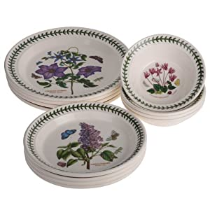 Share facebook twitter pinterest currently unavailable we for Portmeirion dinnerware set of 4 botanic garden canape plates