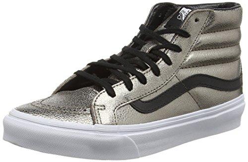 Vans Unisex - Adulto Sk8-hi Slim Sneakers stringate oro Size: EU 39 (US 7)