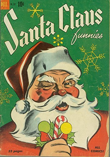 POSTER comics cover Dell Christmas Books 4C0302 Santa Claus Funnies Vintage Wall Art Print A3 replica