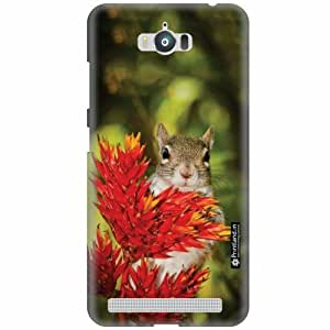 Printland Designer Back Cover for Asus Zenfone Max ZC550KL - Squirrel Case Cover