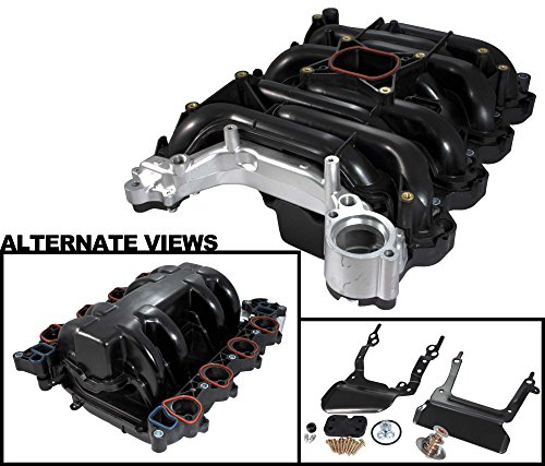 APDTY 726289 Intake Manifold Assembly w/Gaskets & Upgraded Heavy Duty Aluminum Coolant Crossover Fits 96-1997 Mercury Cougar 4.6L / 1996-2000 Mercury Grand Marquis / 1996-2000 Lincoln Town Car / 1996-2000 Ford Crown Victoria / 1996-1998 Ford Mustang 4.6L (Lincoln Towncar Intake Manifold compare prices)