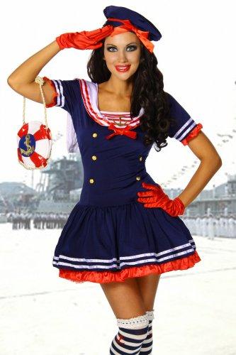 Karneval-Mottoparty-Ssses-Marine-Kostm-blaurotwei-GrS-M-Gre-AtixoS-M