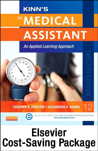 Kinn'S The Medical Assistant - Text, Study Guide And Procedure Checklist Manual Package With Icd-10 Supplement: An Applied Learning Approach, 12E