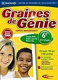 Graines de génie - coffret multimatiere 2008 : sixième (11-12 ans)...