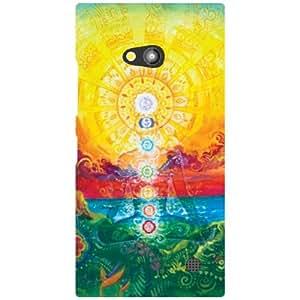 Via flowers Back Cover For Nokia Lumia 730 Traditional Multi Color