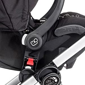 Baby Jogger Car Seat Adapter for Peg Perego, Black
