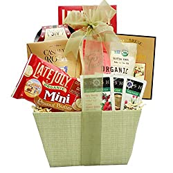 Broadway Basketeers Organic and Natural Healthy Gift Basket - A Healthy Gift Basket by Broadway Basketeers