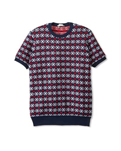 DSQUARED2 Men's Geometric Short Sleeve Pullover