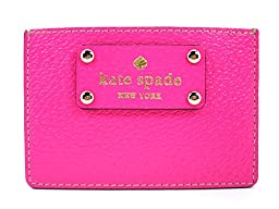 Kate Spade Wellesley Graham Card Case WLRU1147 (Bougainvillea Pink)