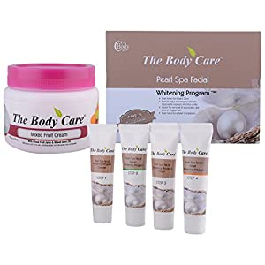 The Body Care Combo Of Pearl Spa Facial Kit + Mixed Fruit Cream