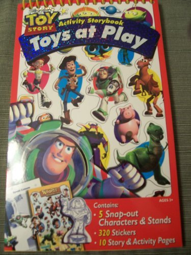 Disney Toy Story Activity Storybook ~ Toys At Play - 1