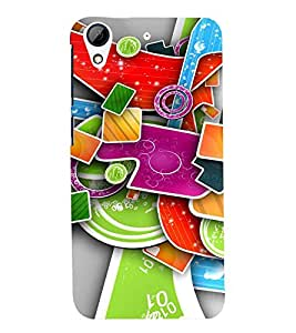PRINTSWAG NEW ERA DESIGN Designer Back Cover Case for HTC DESIRE 626G+